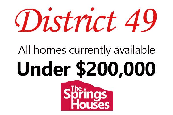 D-49 Homes under $200,000