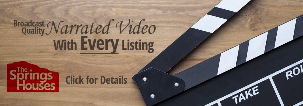 Broadcast quality narrated video with every listing