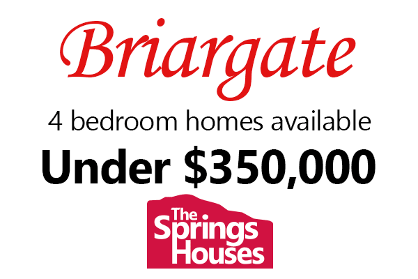 4 Bedroom Homes in Briargate for under $350,000