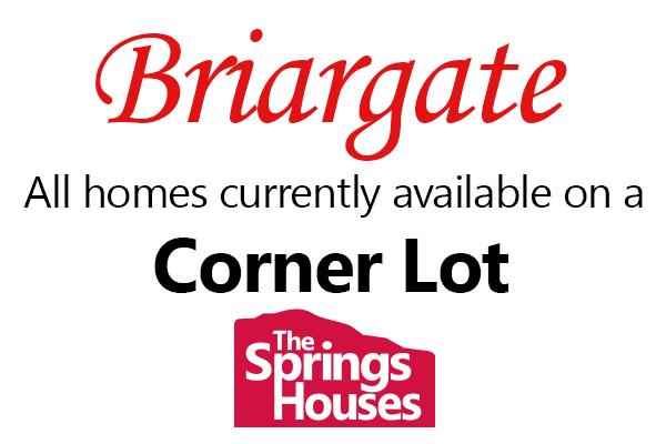 Homes on Corner Lots in Briargate