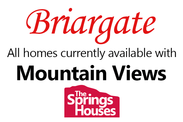 Briargate Homes with Mountain Views