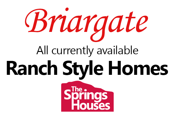 Ranch Style Homes in Briargate