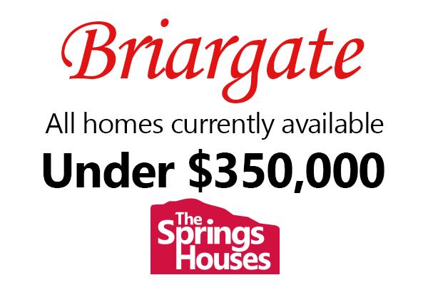 Briargate Homes Under $350,000