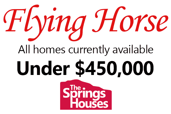 Flying Horse Homes for Under $450,000