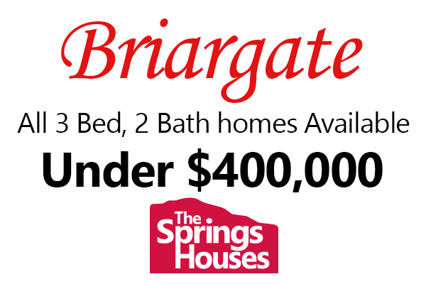 3 Bed, 2 Bath homes in Briargate for Under $400,000