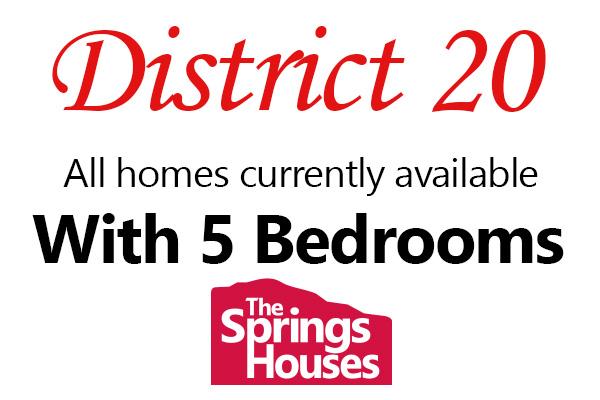 Academy District 20 5 Bedroom Homes