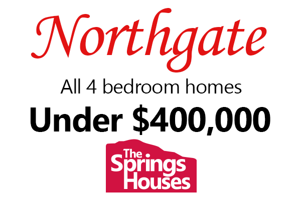 4 Bedroom Homes in Northgate for Under $400,000